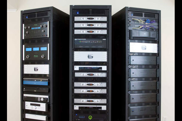 The Little Guys Networking and Audio Rack System