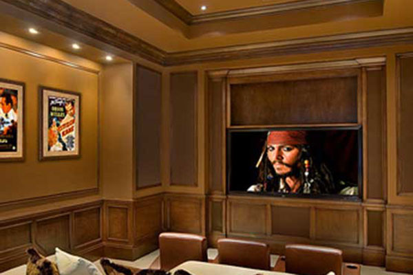 The Little Guys Unique Home Theater