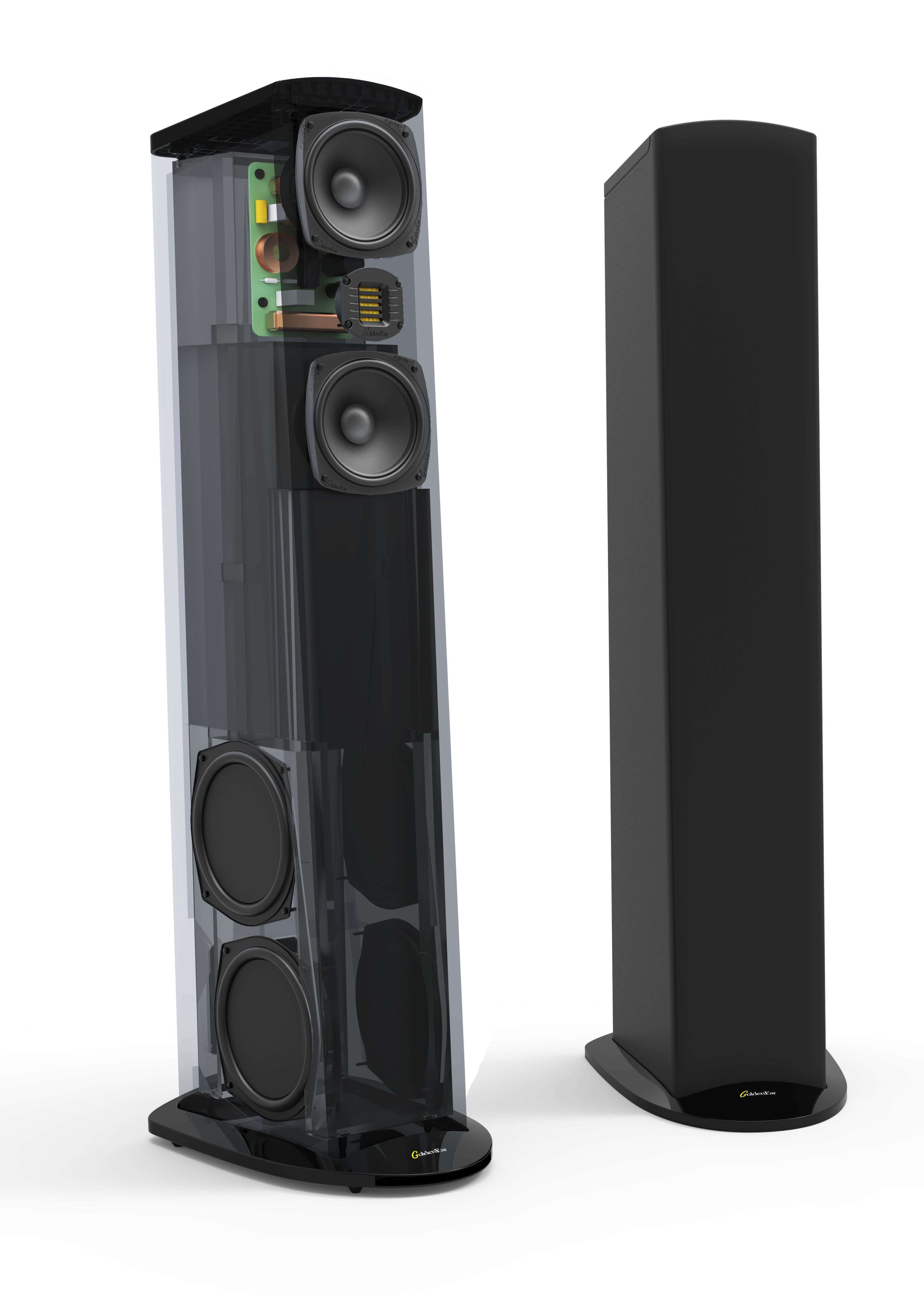High Performance Audio The Little Guys Subwoofers Will Consistent Power To Both Maximizing Your Goldenear Triton